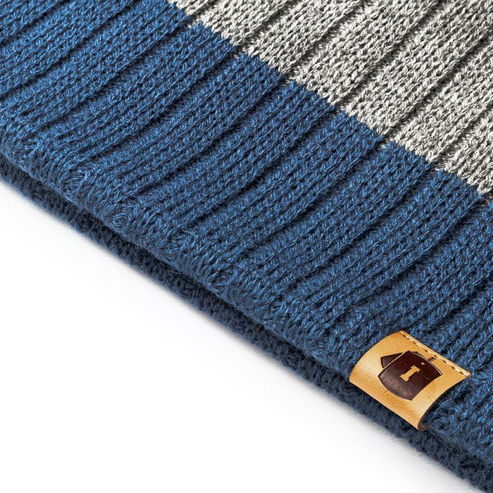 Gorro Invictus Alaska Mariner Cinza e Azul