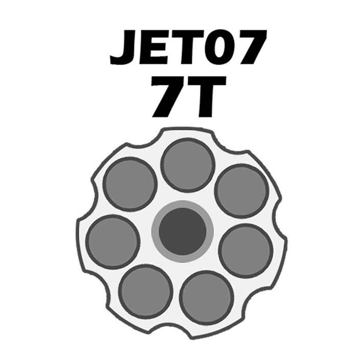 Jet Loader Shotgun Para Revolver Cal.38/357 - 7 Tiros - Preto