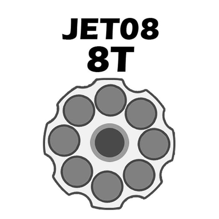 Jet Loader Shotgun Para Revolver Cal.38/357 - 8 Tiros - Preto