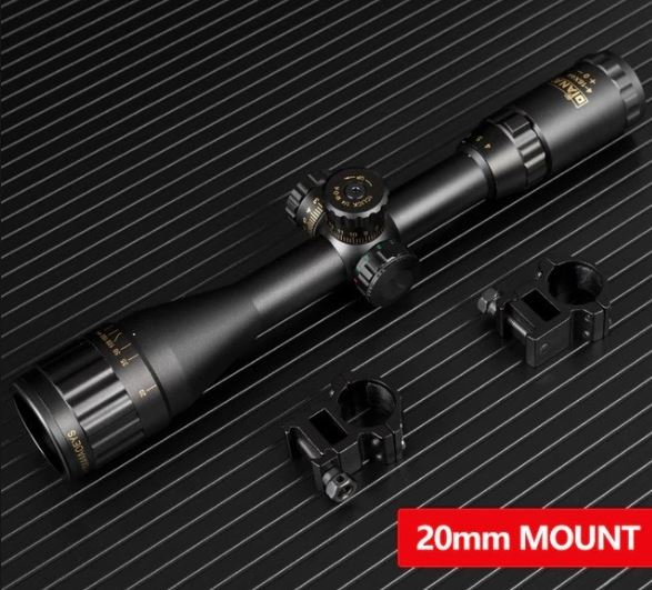 Luneta DIANA Rifle Scopes 4-16x44 AOE (Retículo Iluminado) - 22mm