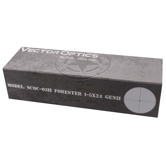 Luneta Forester 1-5x24 Gen II SCOC-03II - Vector Optics
