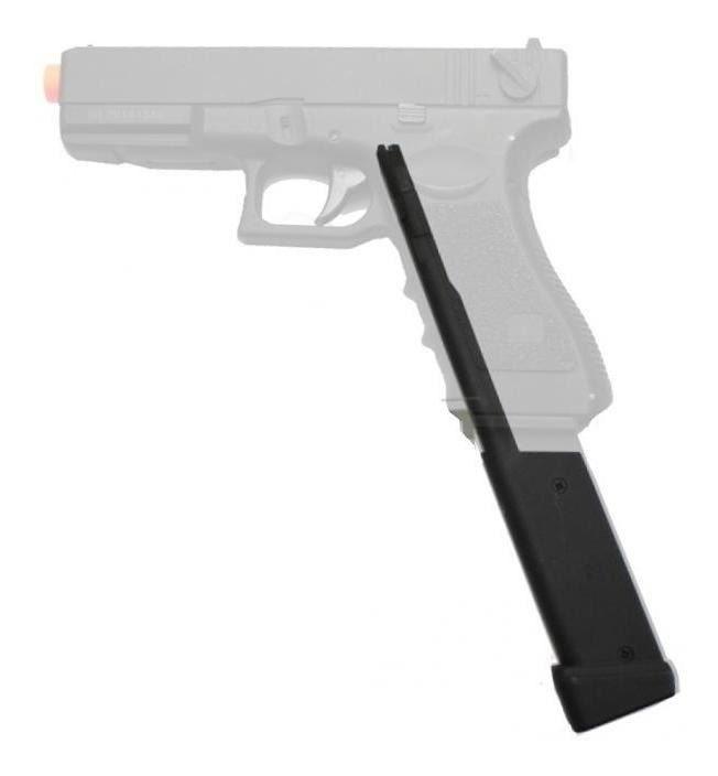 Magazine Estendido (100 BBs) CYMA para Glock 18c / P226 e 1911