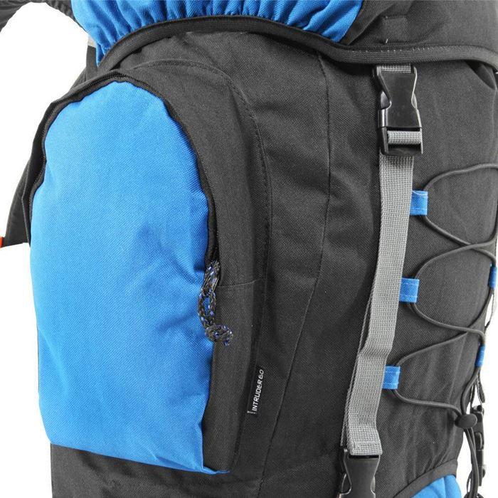 Mochila Intruder 60 Litros NTK - Azul e Preto