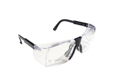 Óculos de Segurança Delta (Com Armação para Lentes) Carbografite - Incolor