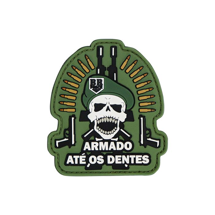 Patch BR Force - Caveira