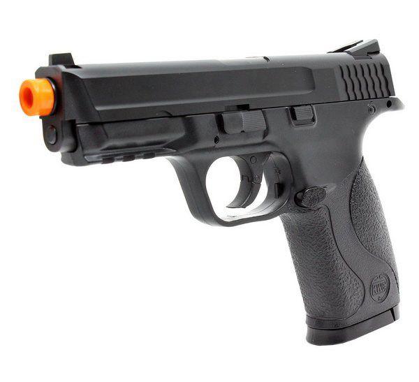 Pistola de Airsoft Co2 MP40 GNB - KWC - Slide em Metal