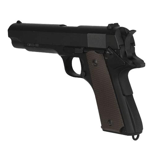 Pistola Elétrica Airsoft AEP Colt 1911 (CM123) - CYMA