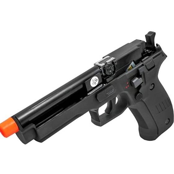 Pistola Elétrica Airsoft AEP P226 (CM122)) - CYMA