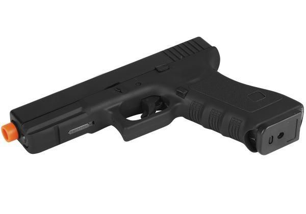 Pistola GBB Airsoft Green Gás Glock R17 Blowback 6mm Black - Army
