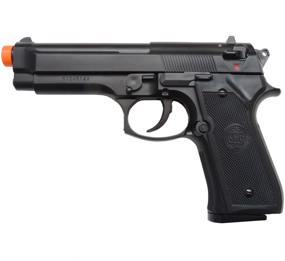 Pistola Spring Beretta M92 KWC + 2000 BBs