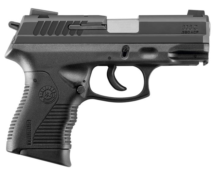 Pistola Taurus 838C .380 Auto