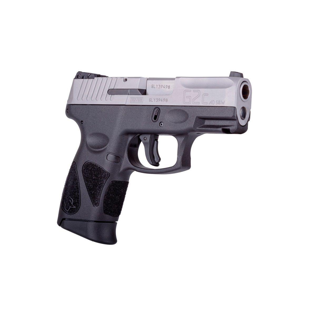 Pistola Taurus G2C .40 S&W - INOX FOSCO