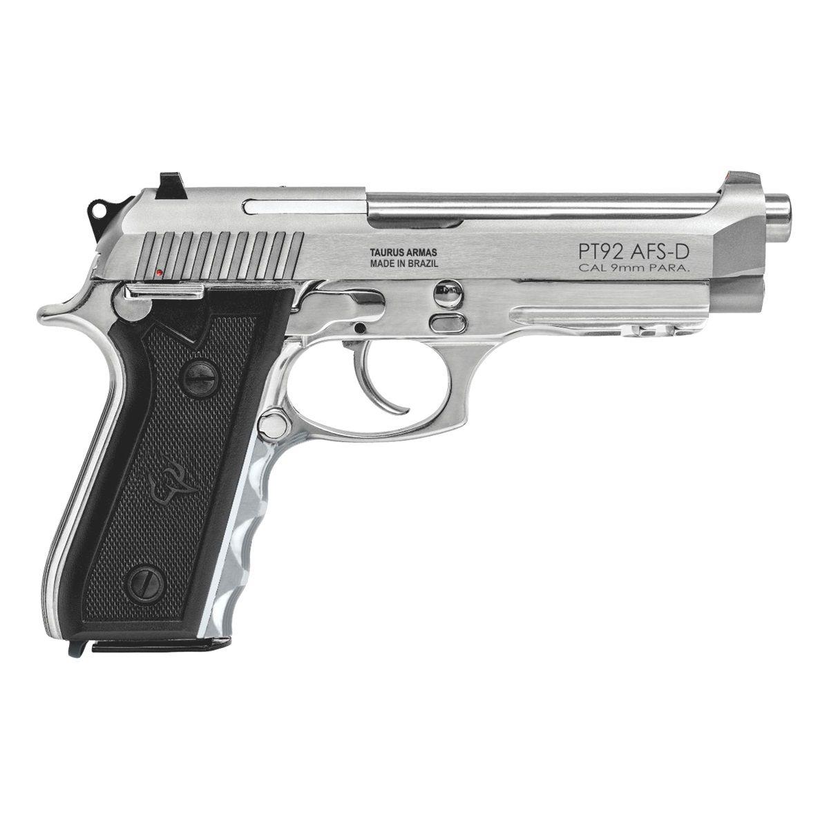Pistola Taurus PT92 9MM Inox