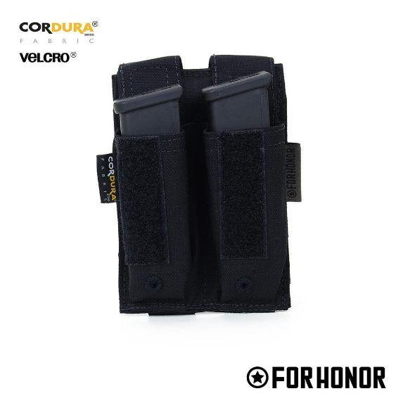 Porta Carregador de Pistola Duplo - FORHONOR