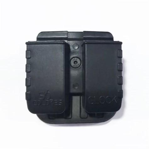 Porta Carregadores para Glock Duplo - Só Coldres