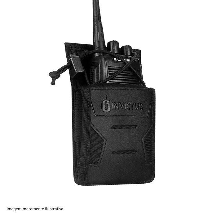 Porta Rádio Modular 0914 Invictus - Preto