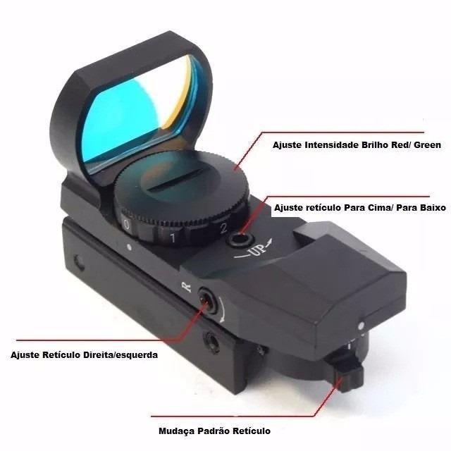 Red/Green Dot Mod. HD102 - Trilho de 20/22mm