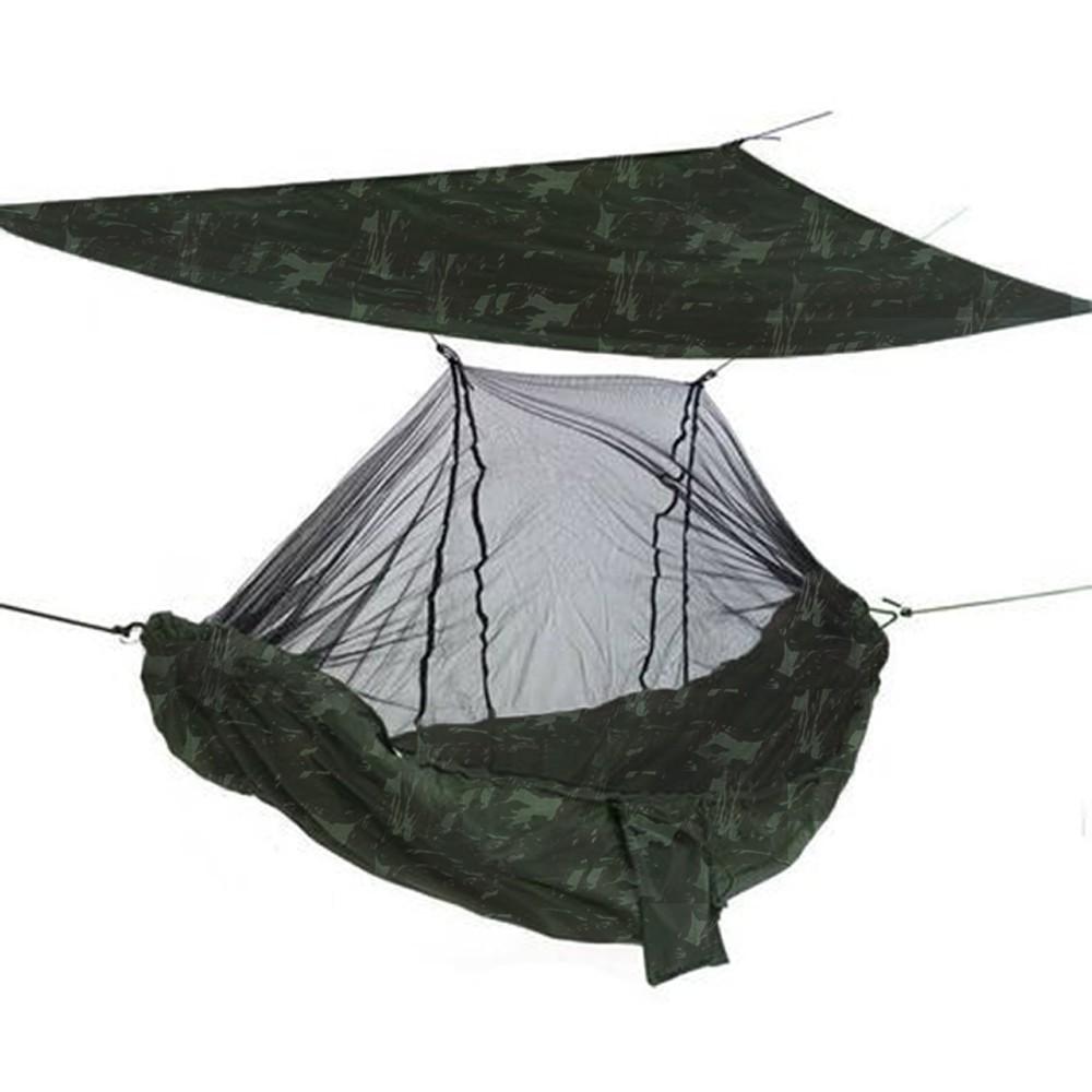 Rede de Camping com Mosquiteiro e Teto SAFO - Exército