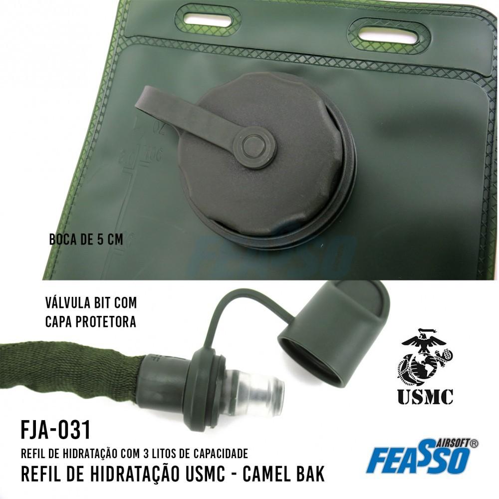 Refil de Hidratação USMC 3L FJA-031 - Feasso