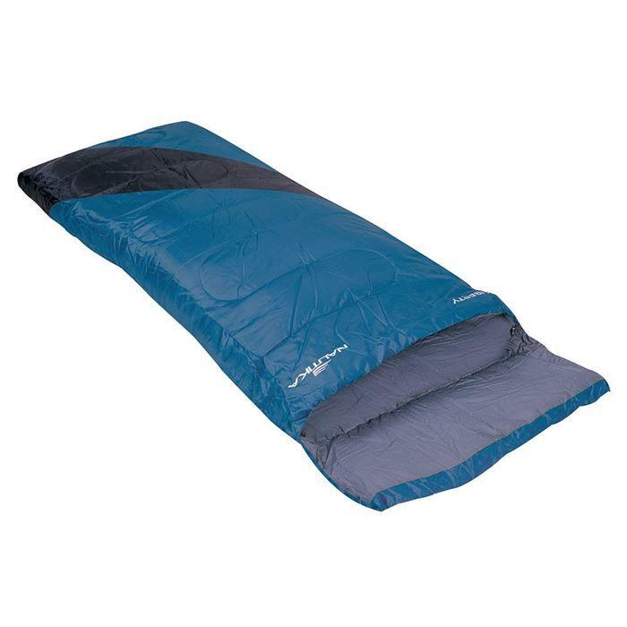 Saco de Dormir Liberty 4°C a 10°C  NTK - Azul e Preto