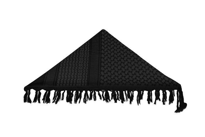 Shemagh Invictus Mirage Dune - Preto e Cinza Escuro
