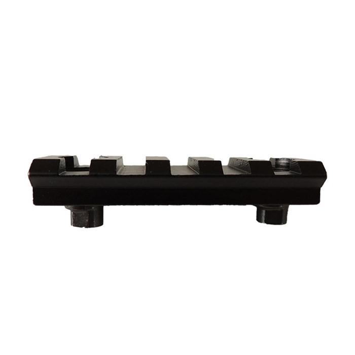 Trilho 22mm em Metal 5 Slots p/ Keymod - Preto