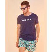 Camiseta Marmorizada Make Waves
