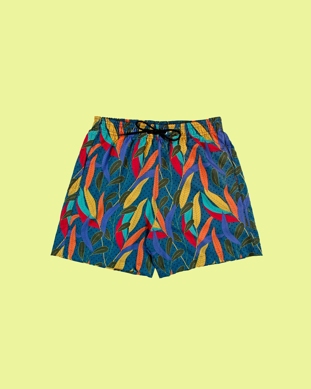 Short de Praia Tropical