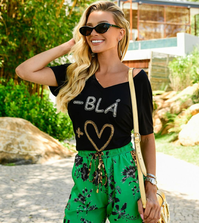 Blusa Bla Amor Blesse