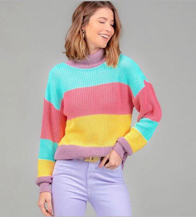 Blusa Danielle colours Le Blog