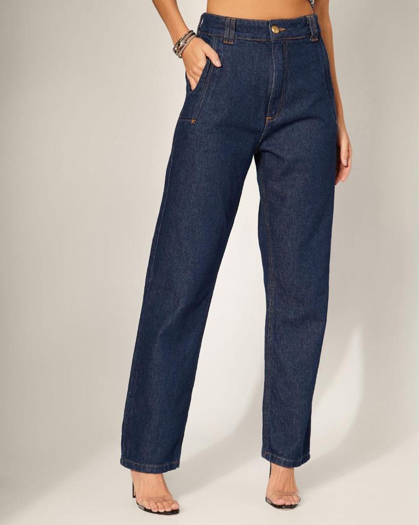 Calca Jeans Reta Vida Bela