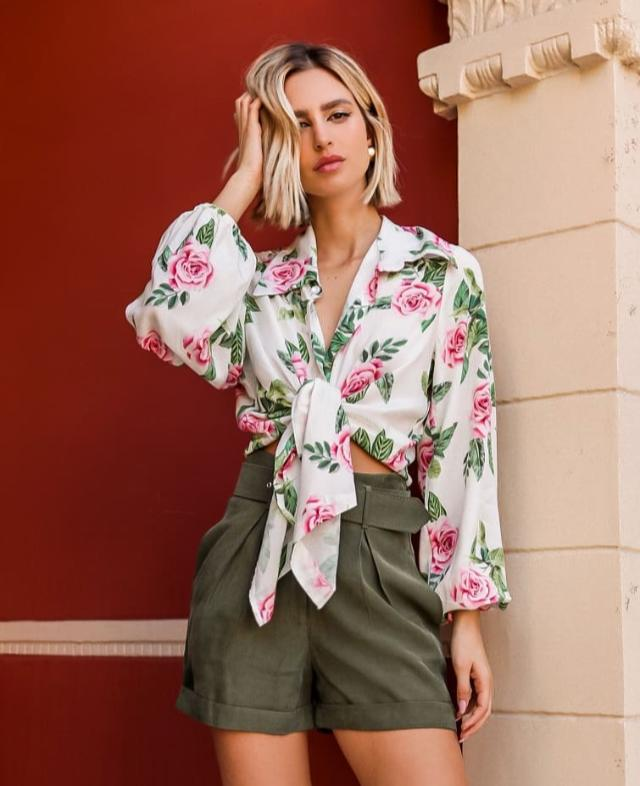 Camisa Roses Amarracao Inffinity