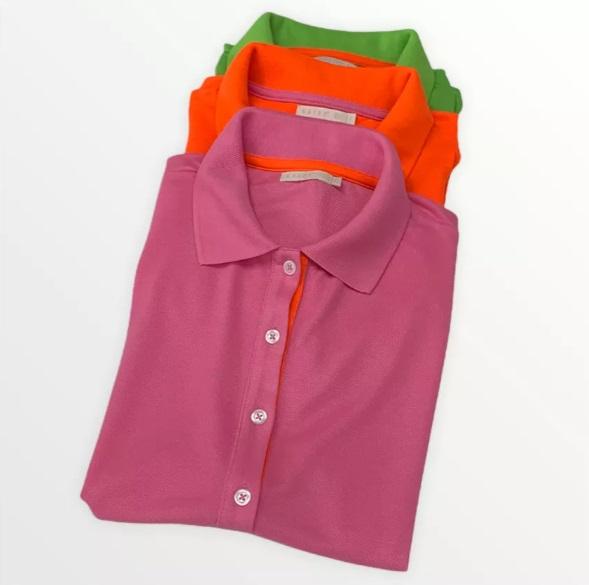 Camiseta Polo Rebeca Raiz