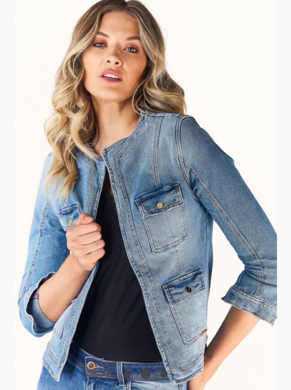 Jaqueta Casaqueto jeans Index
