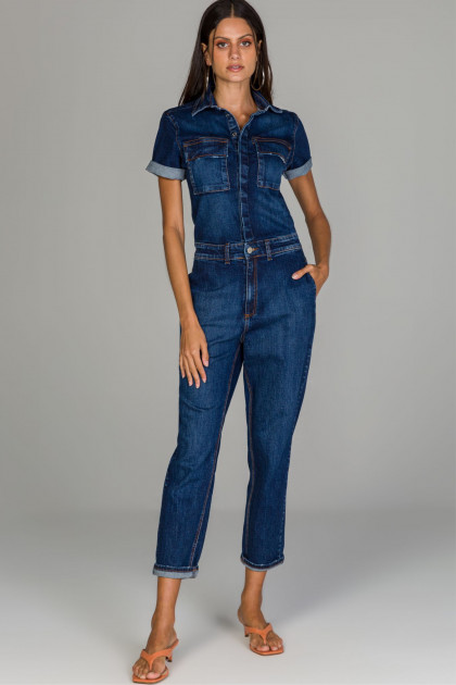 Macacao jeans Chicago Index