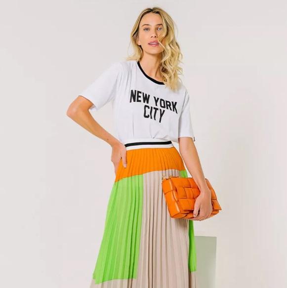 T-shirt Amora New York Raiz