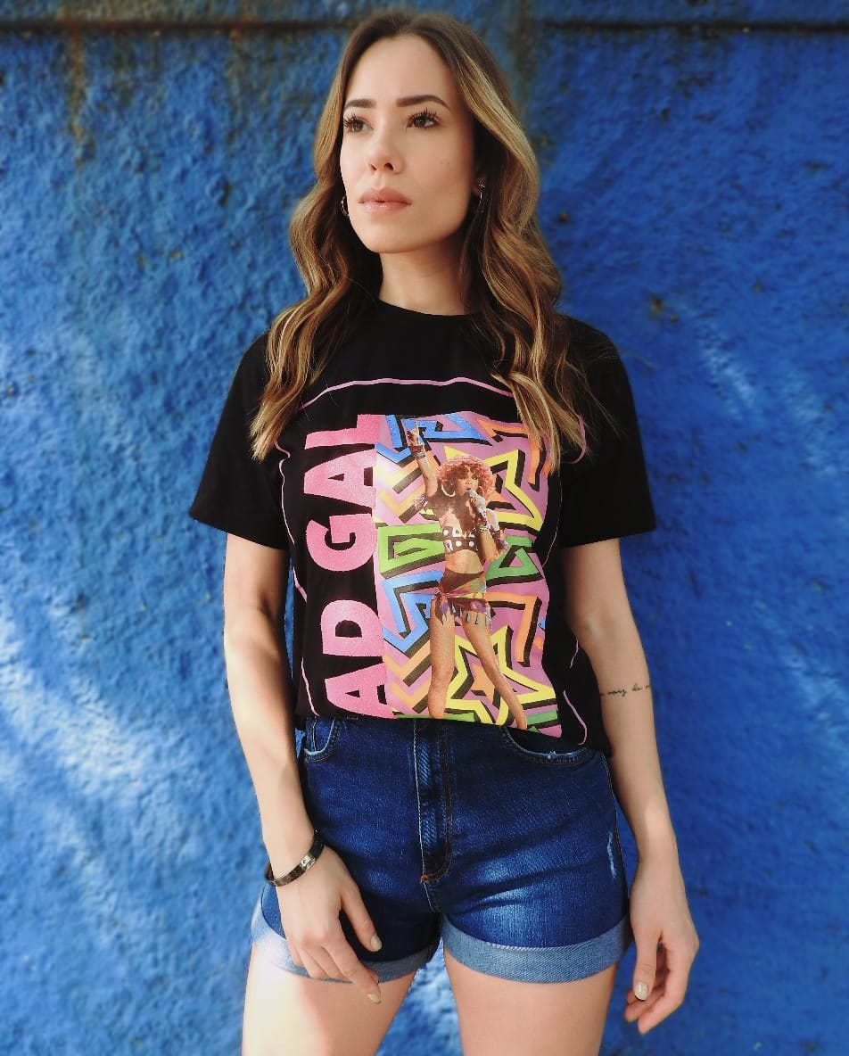 T-shirt Bad Gal Rihanna Vida Bela 26012