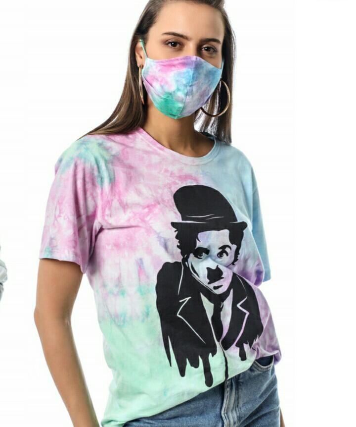 T-shirt Chaplin Tie Dye  Raiz