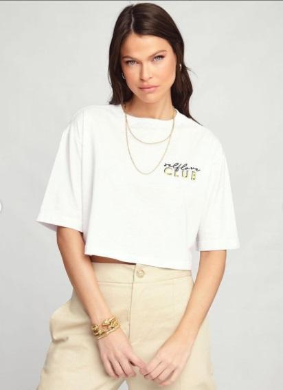 T-shirt Cropped Self Vida Bela