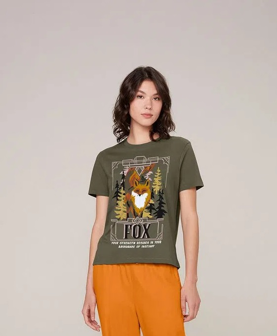 T-shirt  Dzarm Raposa 6rzweac