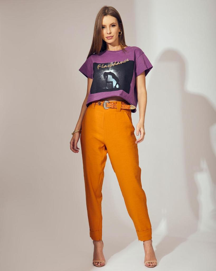 T-shirt Filme Flashdance Vida Bela