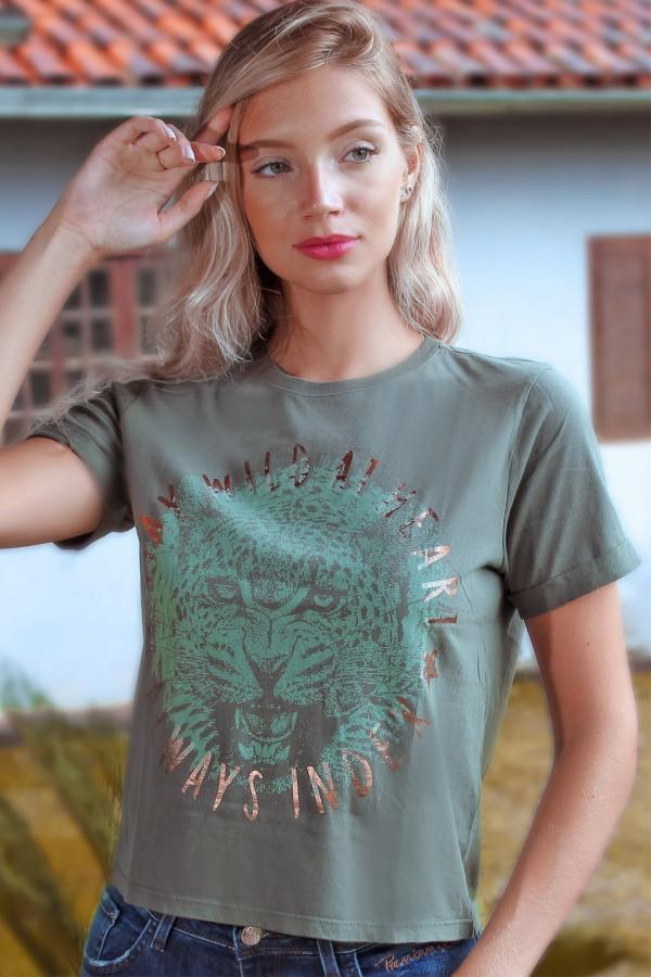T Shirt Onça Index