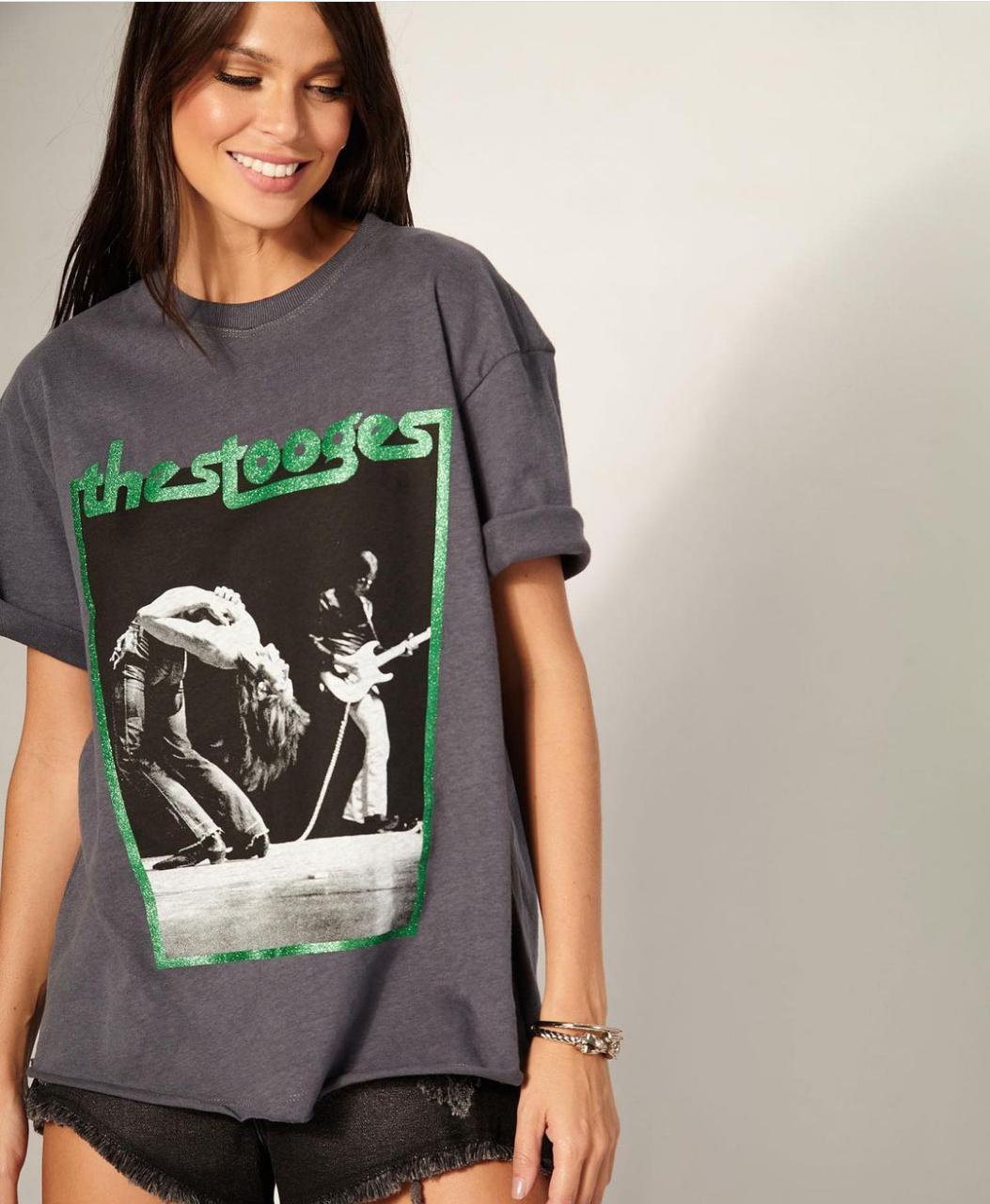 T-shirt Rock N Rol The Stooges  Vida Bela