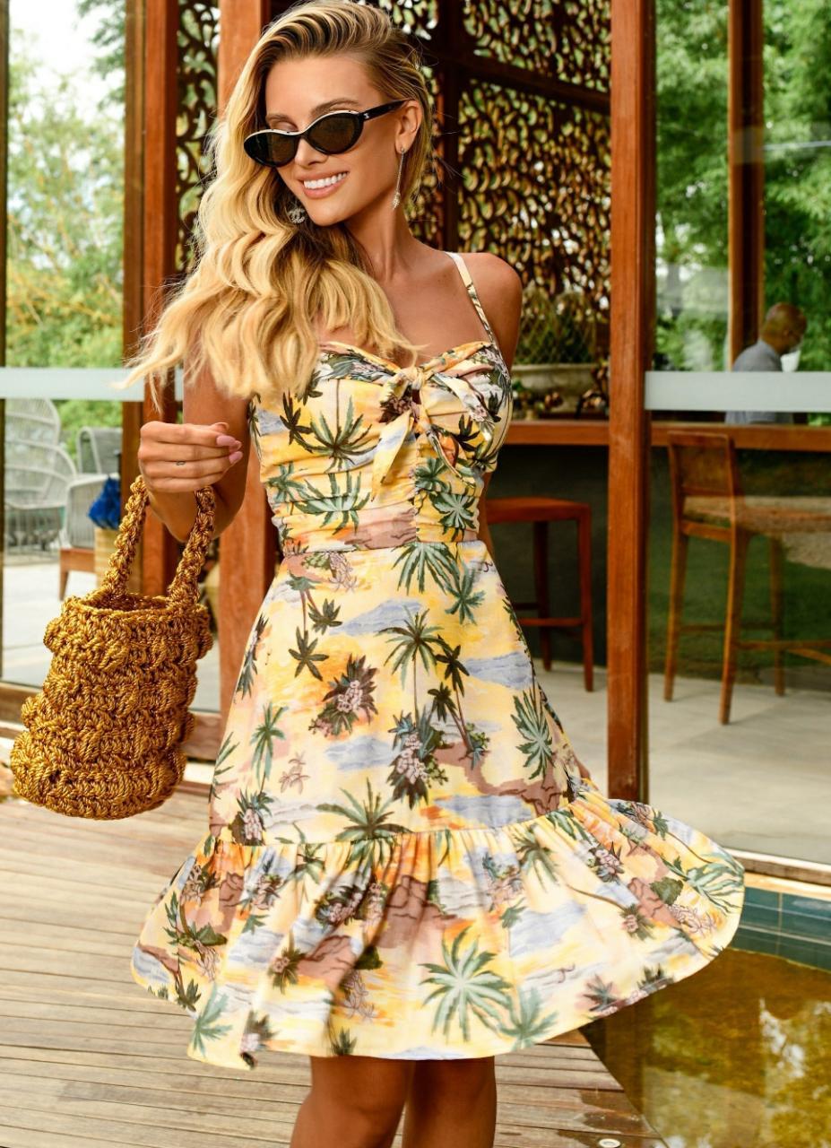 Vestido Curto Tropical Alexandrine Blessed