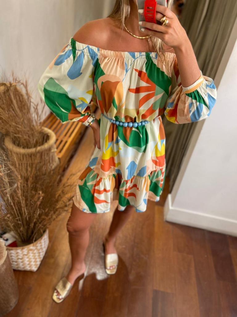Vestido Est Lyon Vida Bela