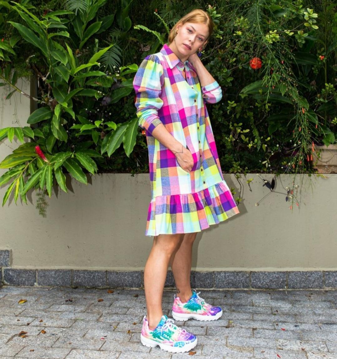 Vestido  Malika Colors Raiz