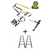 Fita de suspensão - Argola - Completa + Escada Agilidade