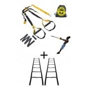 Fita de suspensão - Presilha - Completa + Escada Agilidade