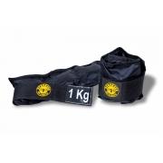 Kit Colchonete Espuma + Halter Dumbbell 4kg + Caneleira de Peso 1kg