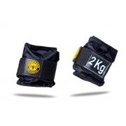 Kit Colchonete Espuma + Halter Dumbbell 4kg + Caneleira de Peso 2kg